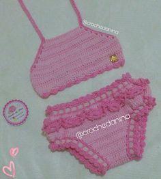 23 Ideas Crochet Bikini Pattern Kids For 2019 Crochet Lace Scarf, Crochet Bikini Pattern, Crochet Baby Beanie, Baby Girl Crochet, Crochet Baby Clothes, Crochet Blanket Patterns, Baby Patterns, Crochet Stitches, Baby Bikini