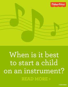 Instill an early love of music in your child. Musical toys, listening to music and singing-along with your child are great ways to encourage a budding musician. Read on for more.