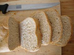 As Minhas Receitas: Pão de Forma Meio Integral