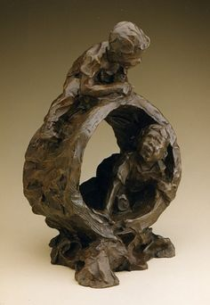 Jane DeDecker, A Day in the Woods 1996, Ed. 22/31, bronze