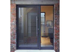Porta d'ingresso in vetro per esterno GEO Collezione Sistema A78 by FINSTRAL