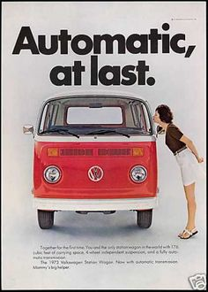 VW Volkswagen Bus Station Wagon Automatic (1973)