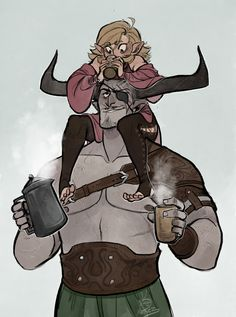 the-orator:Ur all troopers for putting up with my Envy Demon shenanigans, so have something legit cute Plus, I'll never be over the fact that Qunari have hot cocoa