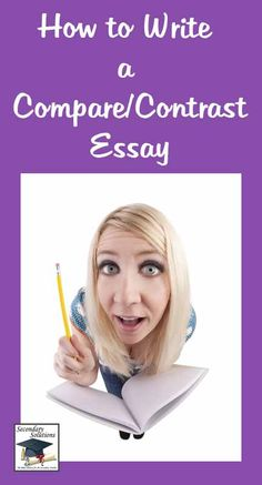 Solid tips and rules for teaching and/or writing a Compare and Contrast #essay