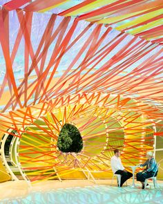 Serpentine Gallery Pavilion 2015 by SelgasCano