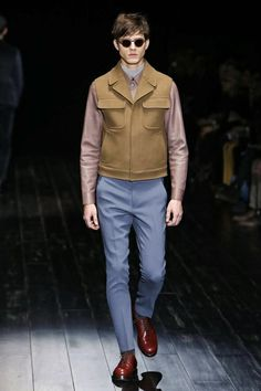 Gucci Menswear Fall Winter 2014 Milan - NOWFASHION
