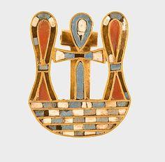 Motto Clasps of Sithathoryunet Period: Middle Kingdom Dynasty: Dynasty 12 Reign: reign of Senwosret II–Amenemhat III Date: ca. 1887–1813 B.C.