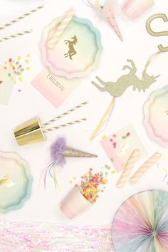Throw a super cute unicorn birthday party with our selection of unicorn party supplies. And browse loads of unicorn party ideas on our blog!