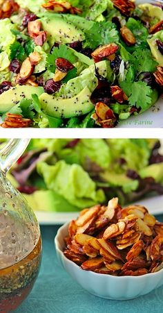 Make this year full of love, relaxation and avocados! PIN and SAVE this refreshing Cranberry Avocado Salad that is packed with flavor!