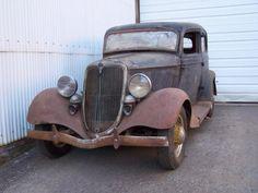 1934 Ford Victoria barnfind !