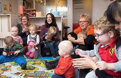 Royal visit: Mary, Crown Princess of Denmark visited The Children's House SIV, in Farum, a...