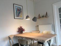Tilt by Nyta Pendel lampe i køkkenet Pendant lamp in the dining room.