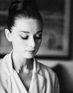 Audrey Hepburn uno de mis modelos a seguir !
