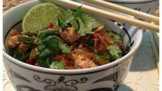 paleo lime chilli chicken noodle stir fry