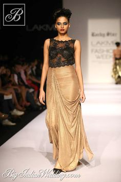 Rocky S Lakme Fashion Week 2013 | Cocktail Wear | Bigindianwedding