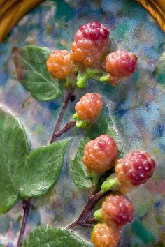 pate de verre berries (Kimiake Higuchi)