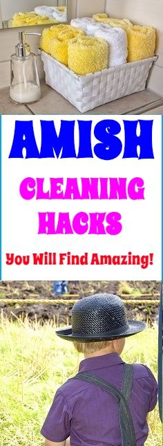 Awesome cleaning hacks that can make your life easier. Clean your home with more healthy cleaning methods. #cleaning #clean #cleaninghacks #hacks #cleaningtricks #home #house #amish #amishcleaning