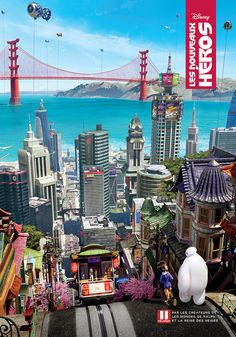 Celebrate Big Hero 6 Opening Day with These International Posters! | Whoa | Oh My Disney