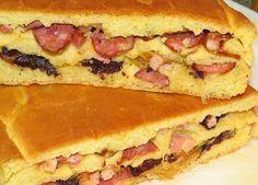 Yummy Food, Tasty, Cupcakes, Portuguese Recipes, Hawaiian Pizza, Chocolate, Wine Recipes, Bread Recipes, Hot Dog Buns