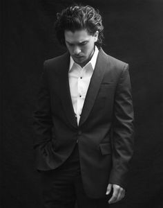 Find images and videos about game of thrones, jon snow and kit harington on We Heart It - the app to get lost in what you love. Kit Harrington, Jon Snow, Beautiful Men, Beautiful People, Beautiful Things, Alesso, King In The North, My Sun And Stars, Fantasy Male