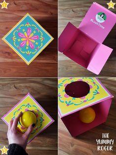 Ecco un progetto #DIY per realizzare in famiglia la scatola per imbucare, un classico proposto dal metodo #Montessori. #Montessorifaidate