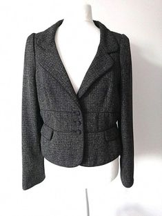 Best Hobbies For Retirees Hobbies That Make Money, How To Make Money, Hobbs Coat, Hobby Lobby Christmas, Large Buttons, Vest Jacket, Size 16, Blazer, Black And White