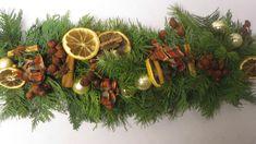 Weihnachtsdeko Girlande basteln ❁ Deko Ideen mit Flora-Shop