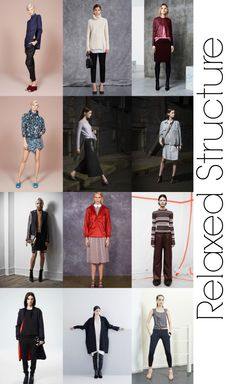 Pre-Fall 2014 Fashion Trends - Relaxed Structure