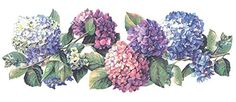 Hydrangea Flower Bouquet Large Instant Stencils ** Check out this great product.