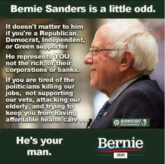 """Bernie said it best, """"we are going to do something 'radical', we are going to tell the TRUTH"""". #4EverSanders"""