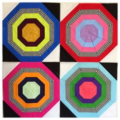 Live a Colorful Life: From Start to Finish: The Bullseye Quilt