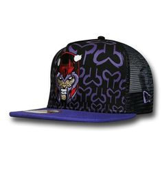 Images of Magneto Villain Front 9Fifty Snapback Cap
