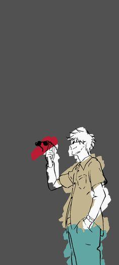 Satorou wallpaper of anime ending