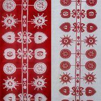 Swedish linen makes me anticipate Christmas