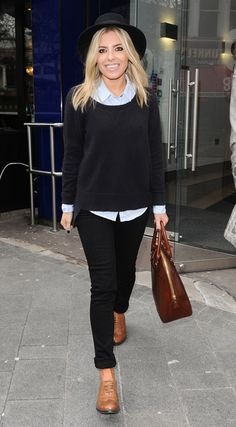 Molly King arriving at Capital FM in London - March 19, 2013 - Photo: Runway Manhattan/GoffPhotos