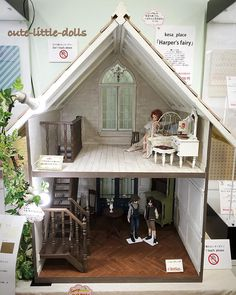 I wonder if this dollhouse is coming to my house... I had it in my dream last night  Well, I joined the silent auction at least  無謀にもサイレントオークション参加してみたまぁ、私の入札額ではまず無理だと思うけど夕べの夢の中では、私が落札者だった #dollhouse #azone #silentauction #ruruko #excute #furniture #miniature #あおと #ゆうた #ドールハウス #アゾン