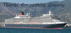 Queeny on her way to Mykonos