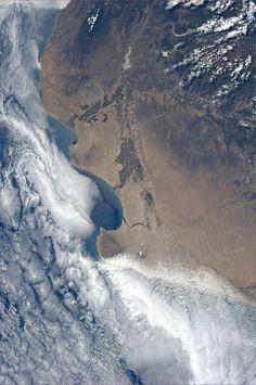 Photos from International Space Station; Northwest Peru