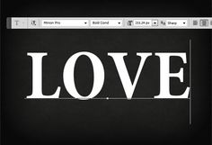 Love Roses Text in Photoshop for Valentine Day - Photoshop tutorial | PSDDude