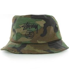 Stussy Stock Lock Bucket Hat  Cute camo bucket hat ☘ Stussy Accessories Hats