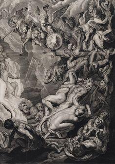 THE LAUGHING HERESIIARCH — Laatste Oordeel, 1658 (detail) ~ by Cornelis...