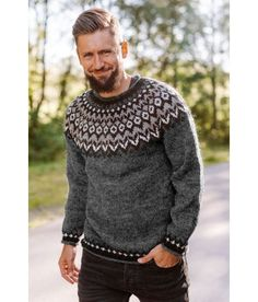 Mens Clothing Styles, Knit Crochet, Men Sweater, Pullover, Fashion Outfits, Knitting, Sweaters, Clothes, Sewing