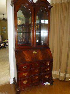Thomasville Mahogany Secretary Desk