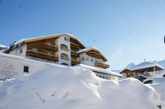 Das Hotel Post in Nauders im Winterkleid http://www.post-nauders.com/
