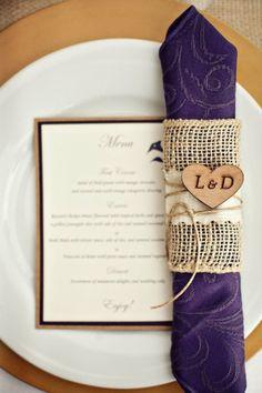 dark purple wedding decorations | 40 Glamorous Dark Purple Wedding Inspirational Ideas | Weddingomania