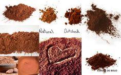 Embora ainda pouco utilizado aqui no Brasil, o cacau em pó vem sendo cada vez mais utilizado em receitas de bolos. Hoje em dia existem algumas marcas no mercado, fáceis de encontrar e com ótima qualidade.