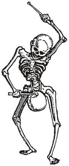 HansHolbein-SkeletonDrummer.jpg (251×600)