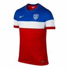 The latest US Soccer merchandise is in stock at FansEdge. Enjoy fast shipping and easy returns on all purchases of US Soccer gear, apparel, and memorabilia with FansEdge. Soccer Gear, Us Soccer, Soccer Uniforms, Basketball Jersey, Soccer Jerseys, Nike Soccer, Soccer Equipment, Basketball Hoop, Usa World Cup