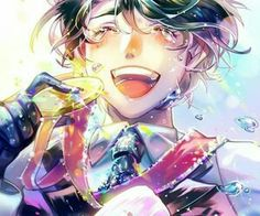 Discovered by AutumnThoughts. Find images and videos about yuuri on ice and seung gil lee on We Heart It - the app to get lost in what you love. Sara Crispino, Bl Comics, Yuuri Katsuki, ユーリ!!! On Ice, Yuri Plisetsky, Wattpad, Cute Anime Guys, Yuri On Ice, Cute Characters
