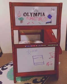 #smallbusinessspotlight #olyfurnco #local #kids #bunkbed #drawing #cute #creative #fun #olympia #WA #Washington #mymixx96